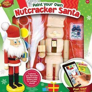 ✨✨✨Paint Your Own Nutcracker Santa Set✨✨✨